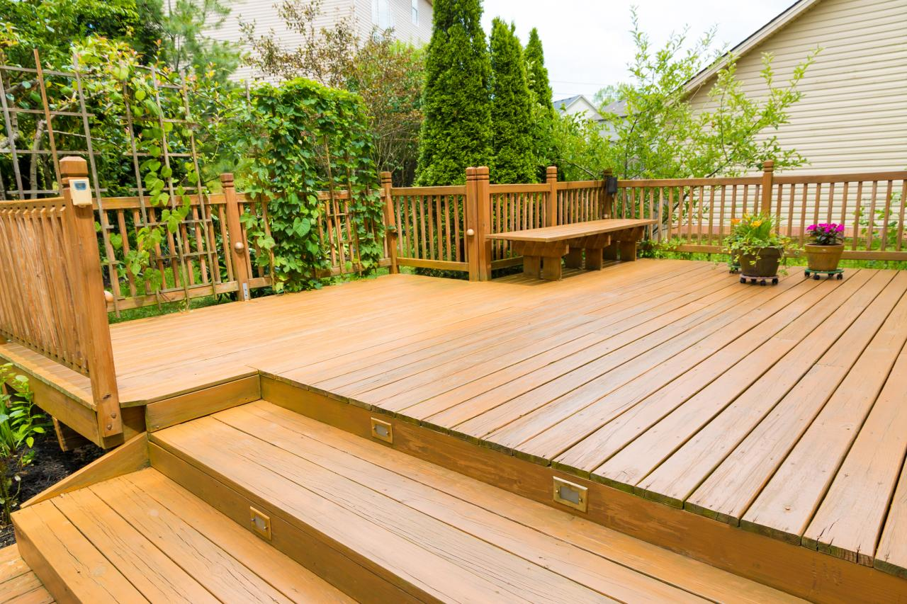 Deck Surface / Staining Repairs