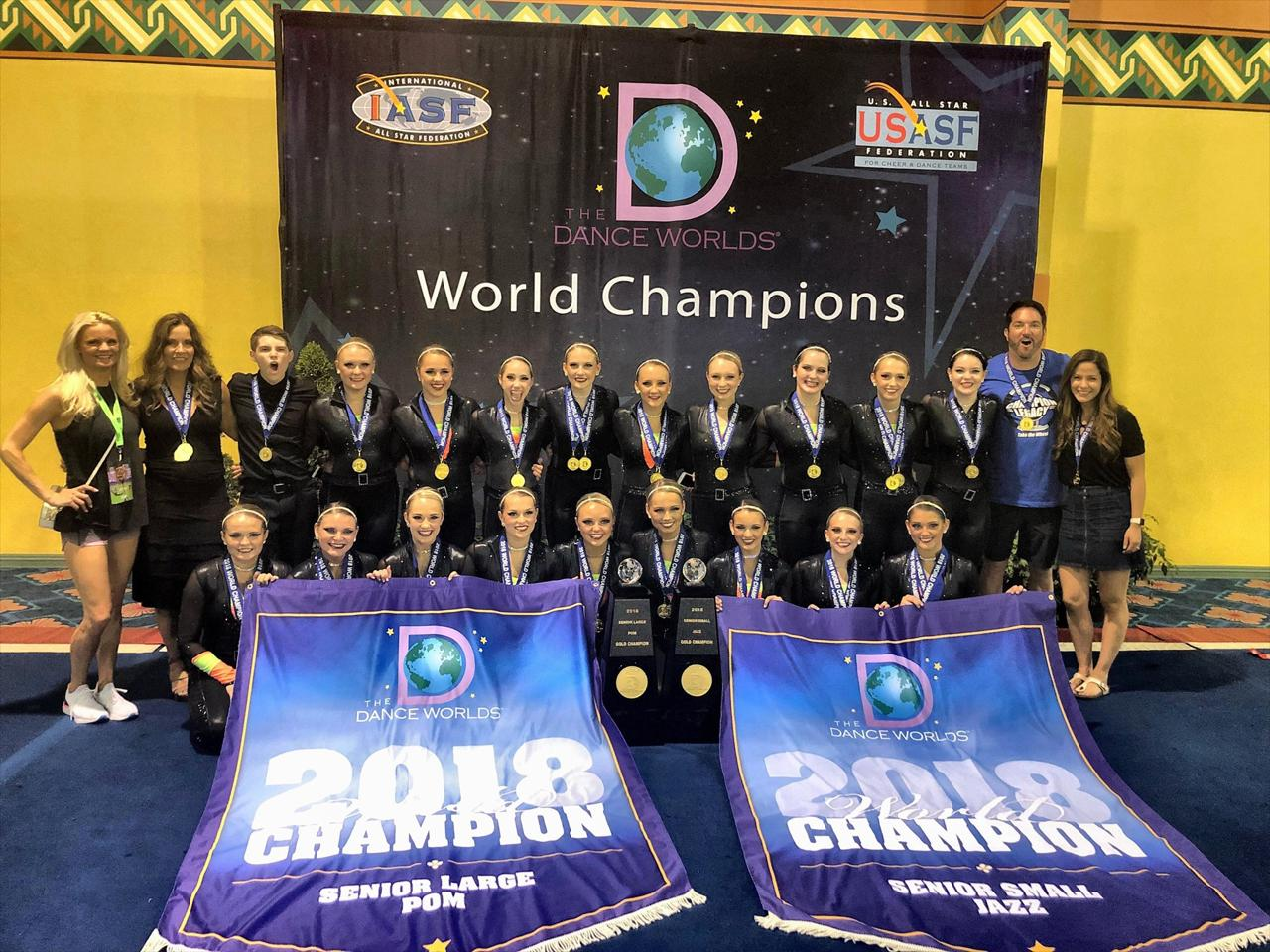 Senior All Stars  Elite National CompetitionDance Team