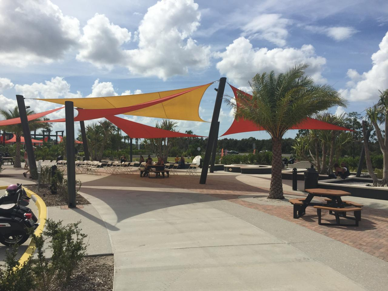 FLORIDA COMMERCIAL SAIL SHADE STRUCTURE CONTRACTOR