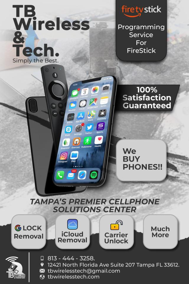 TB Wireless & Tech is proud to welcome you to TB TV!!