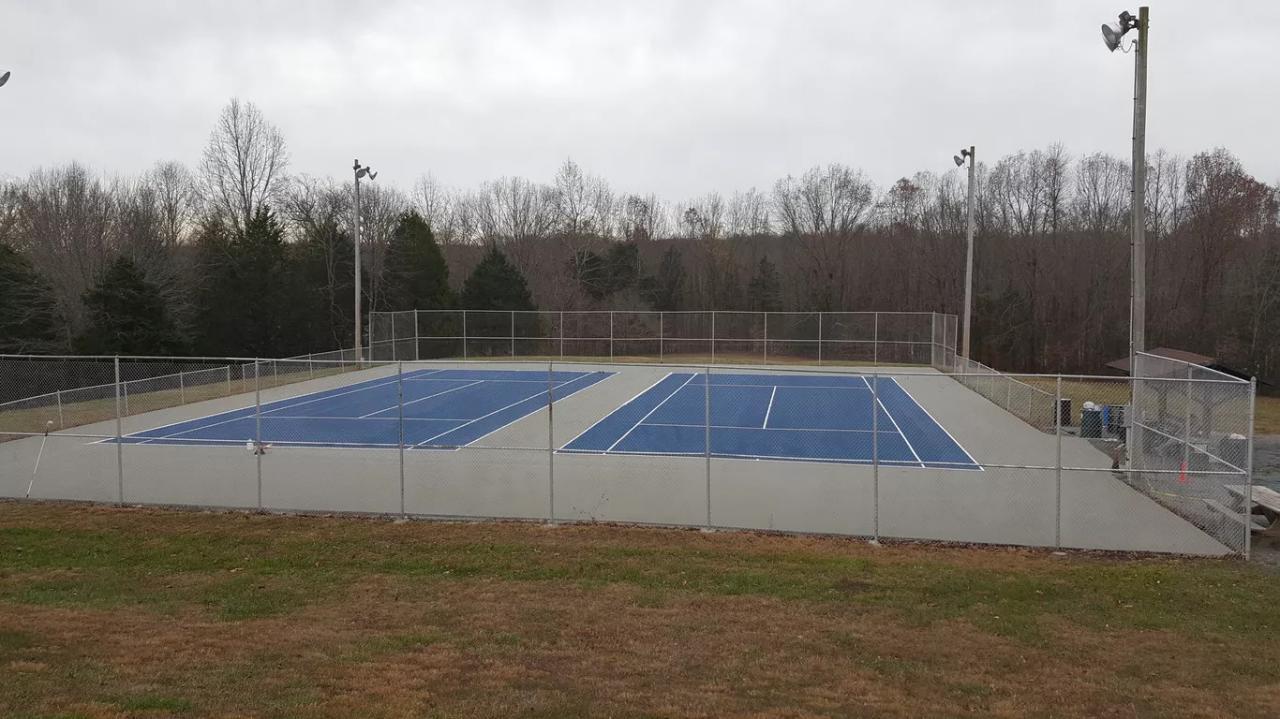 Tennis Court Lining