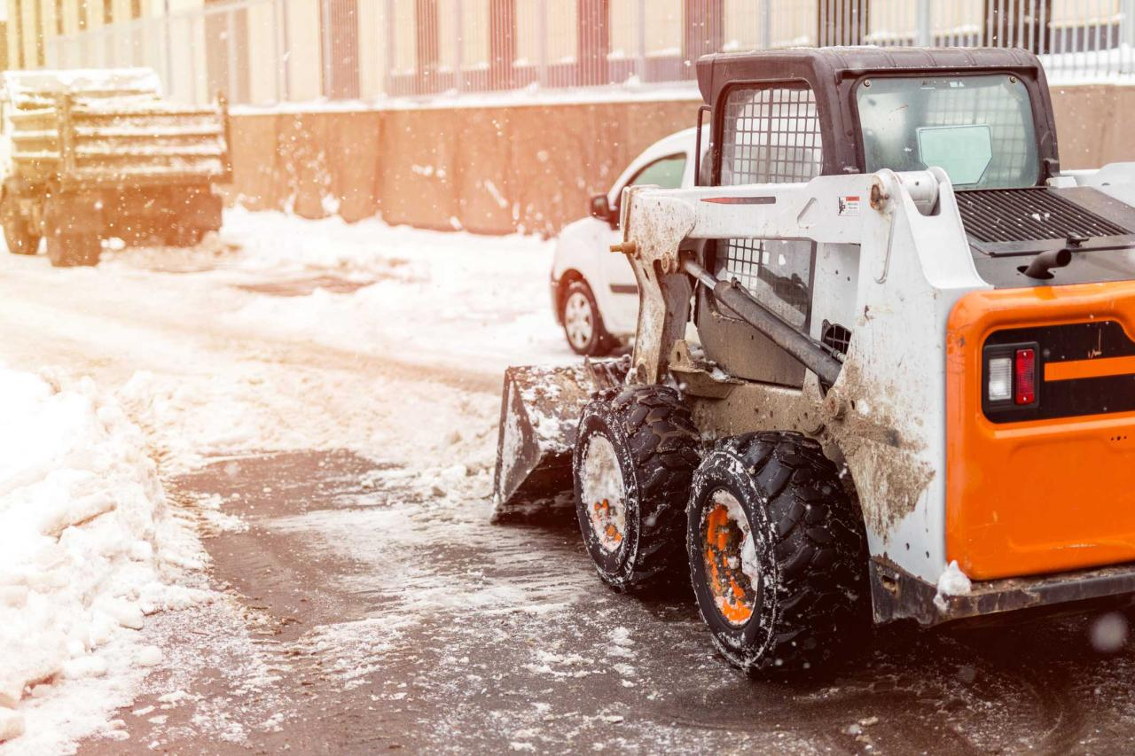 Snow removal and Ice Control