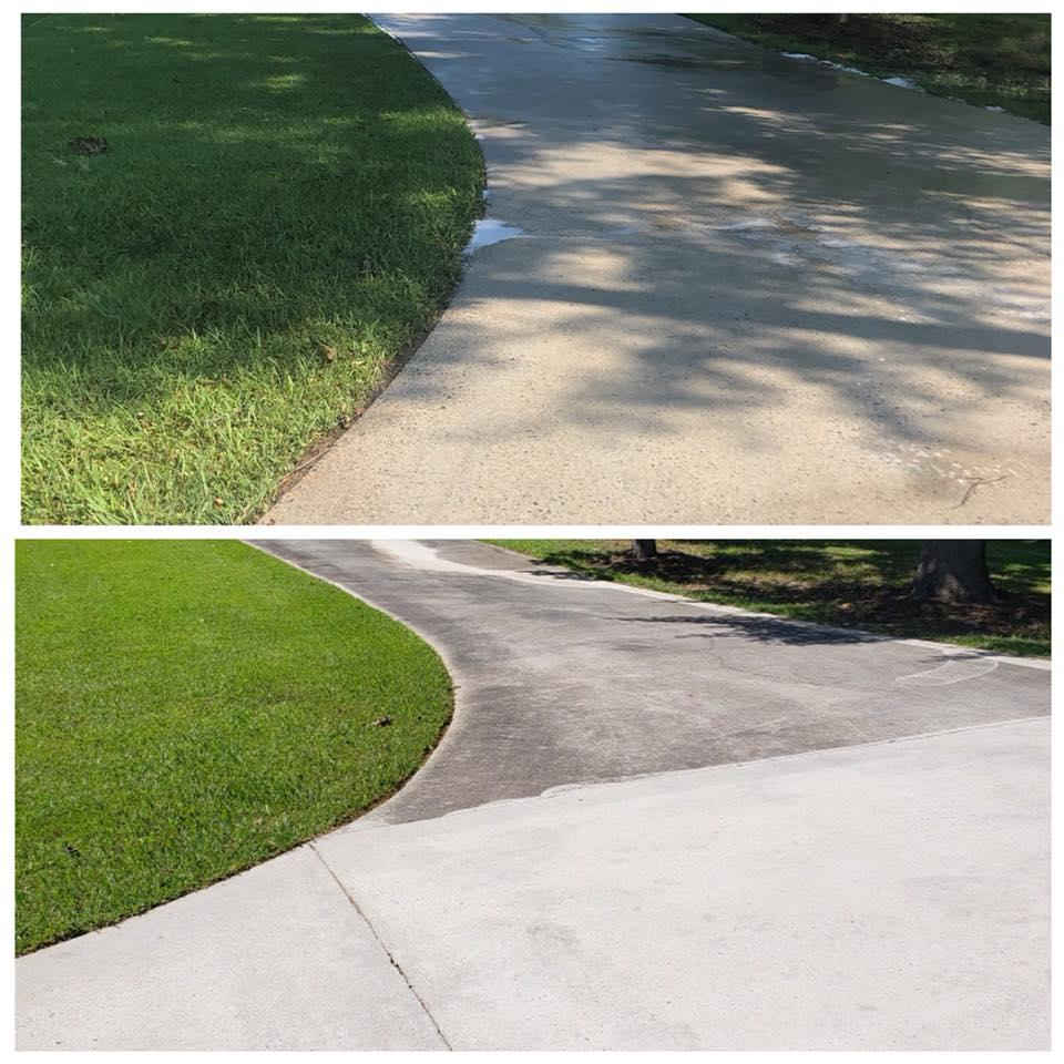 DRIVEWAY, CONCRETE & SURFACE CLEANING