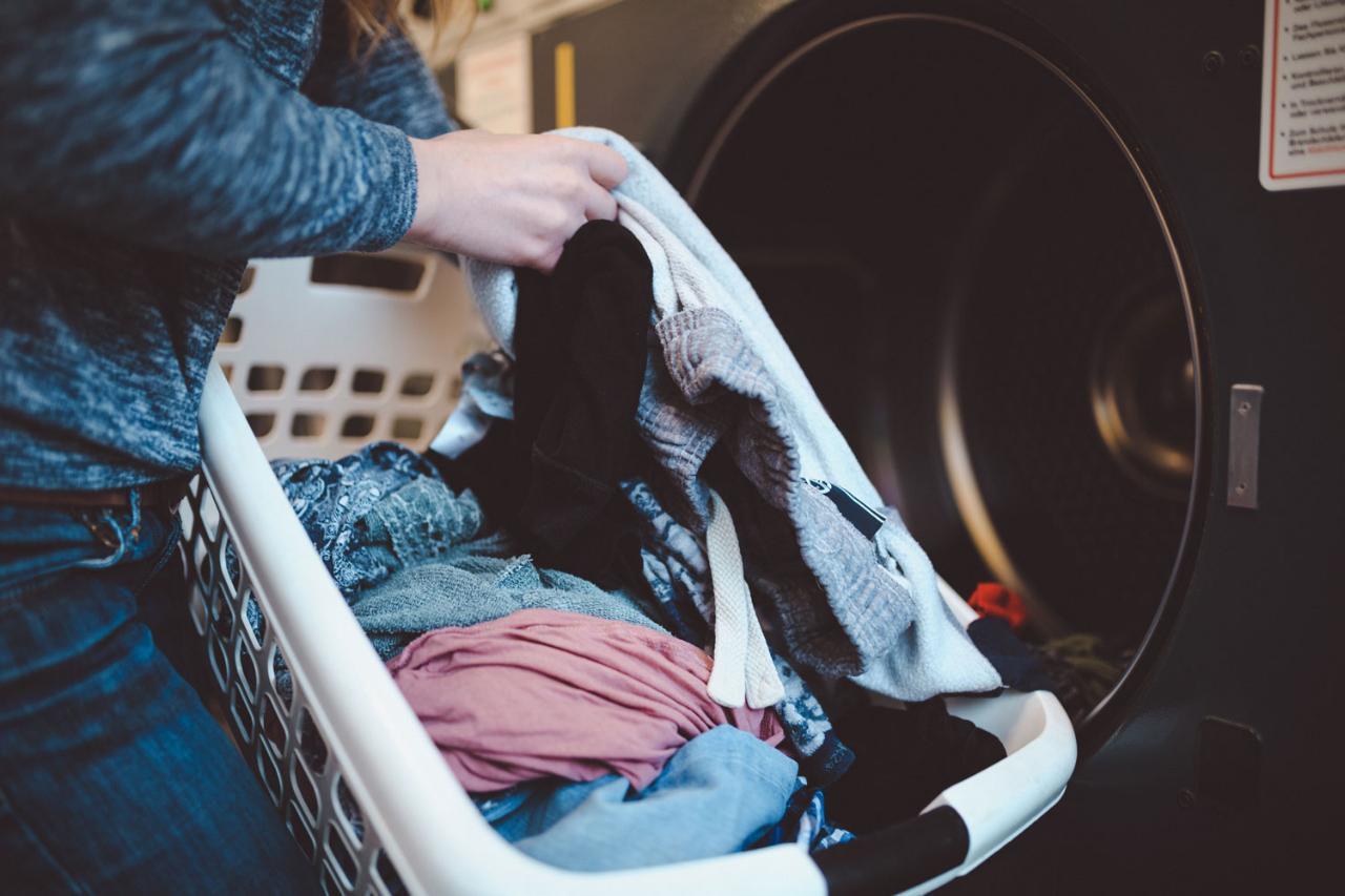 Laundry Wash Dry & Fold