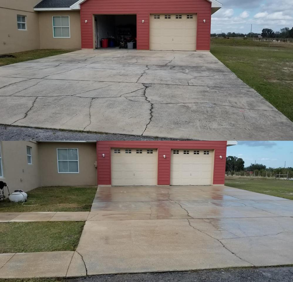Driveway & Concrete Power Washing and Cleaning