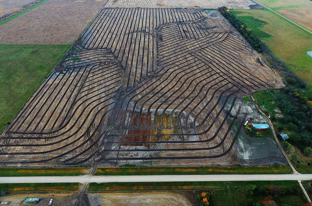 Gridline Field Tile Installation In Mitchell Sd