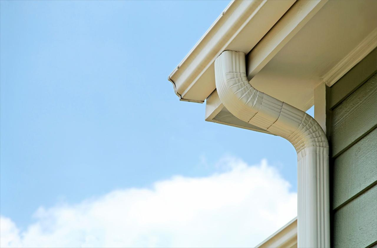 Keep your gutters working correctly with a professional pressure washing service.