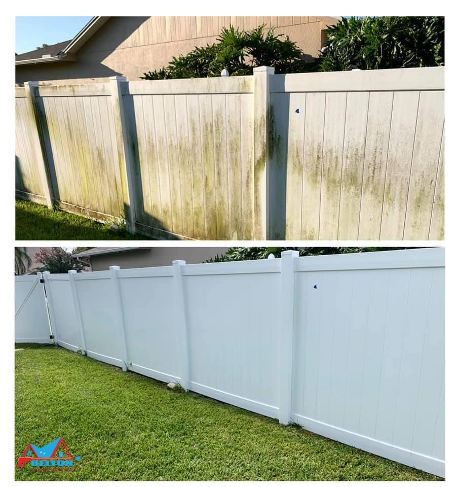 Benefits of Fence Cleaning