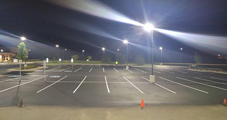 Asphalt Striping Parking Lots, Driveways, and Roadways in South Dakota