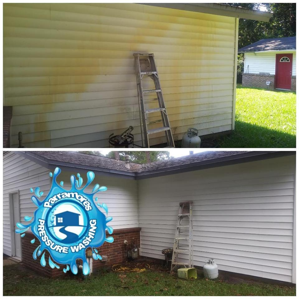 Our heated pressure washing with safe, professional degreasing formulas clean up all kinds of grease and contaminants.