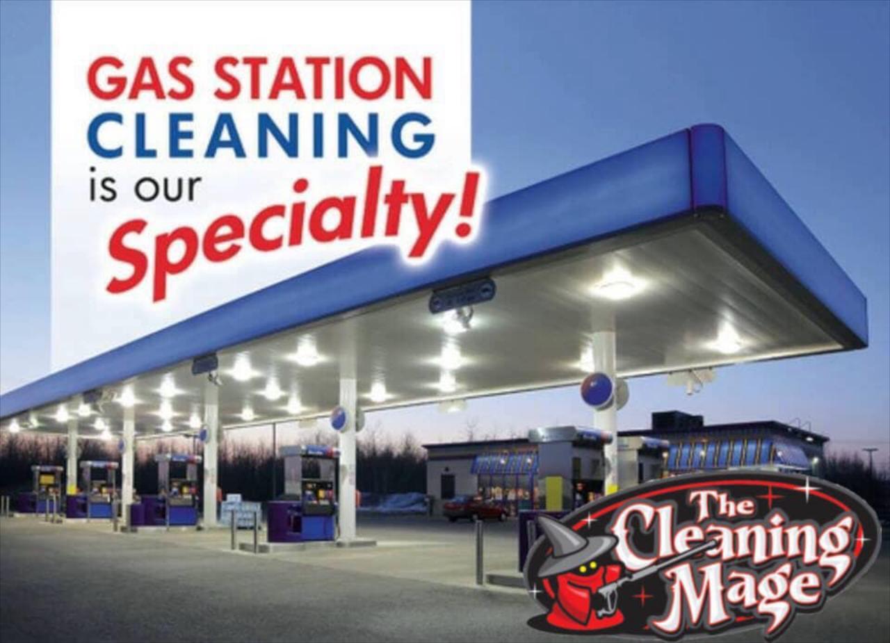 Gas Station Washing