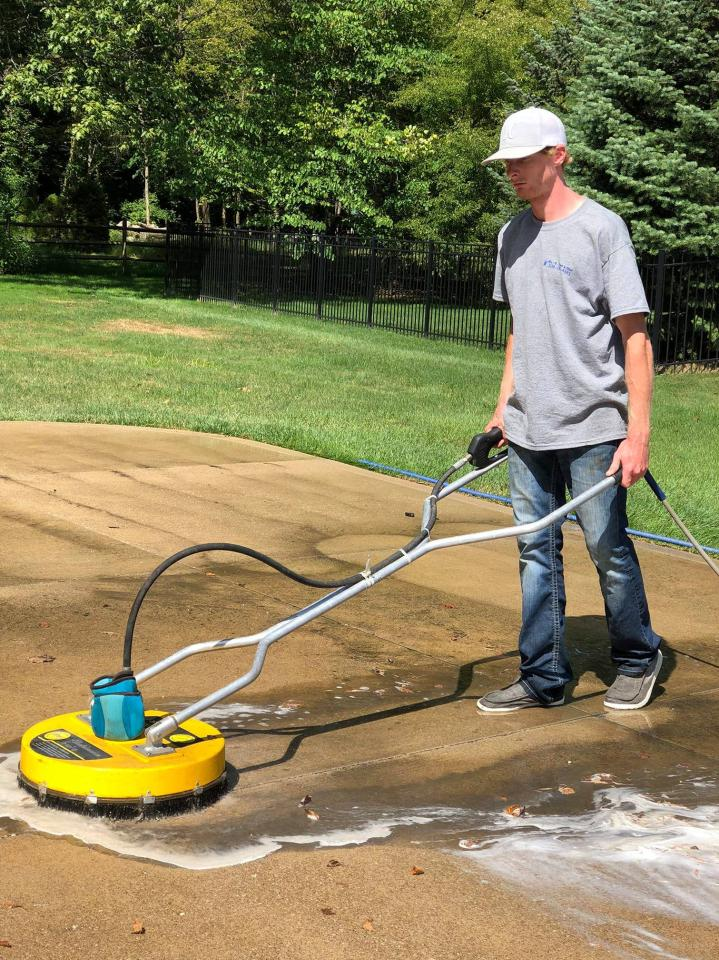 Concrete Cleaning Services in Ohio