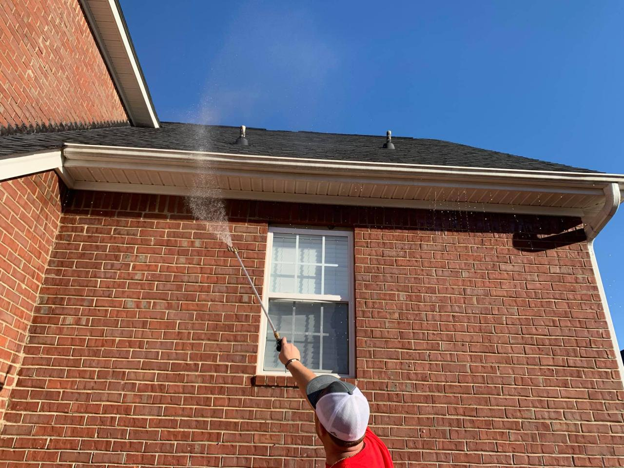 Gutter Cleaning Inside & Out
