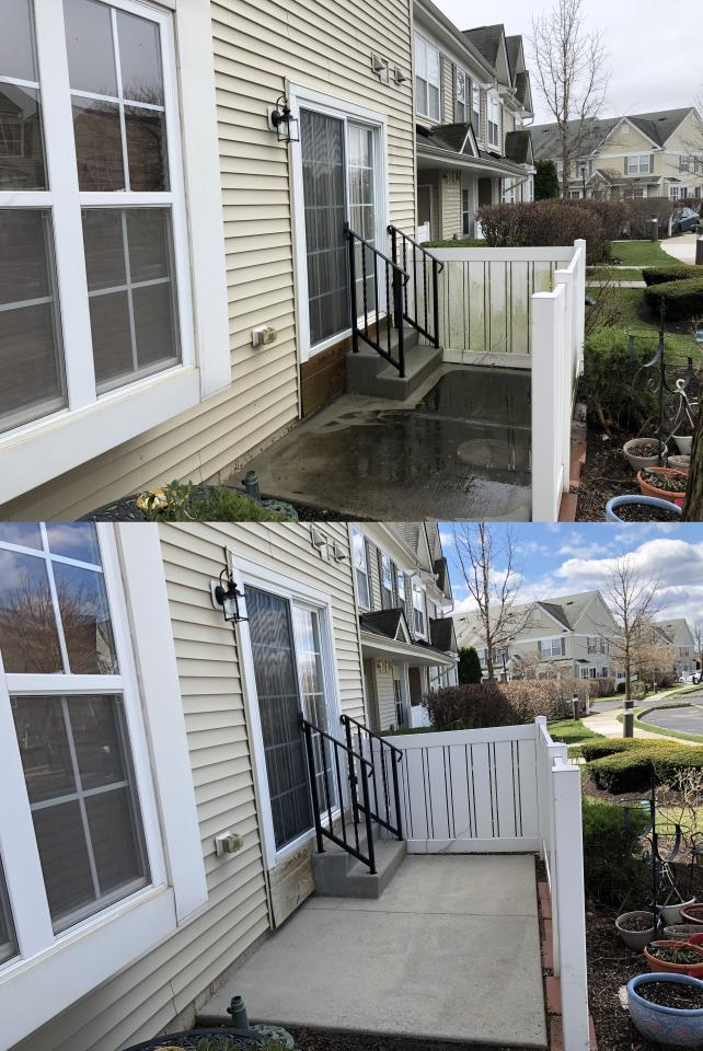 We use pressure washing and soft washing to clean the exterior surfaces in Condos, Townhouses, and Multi-Family living communities.