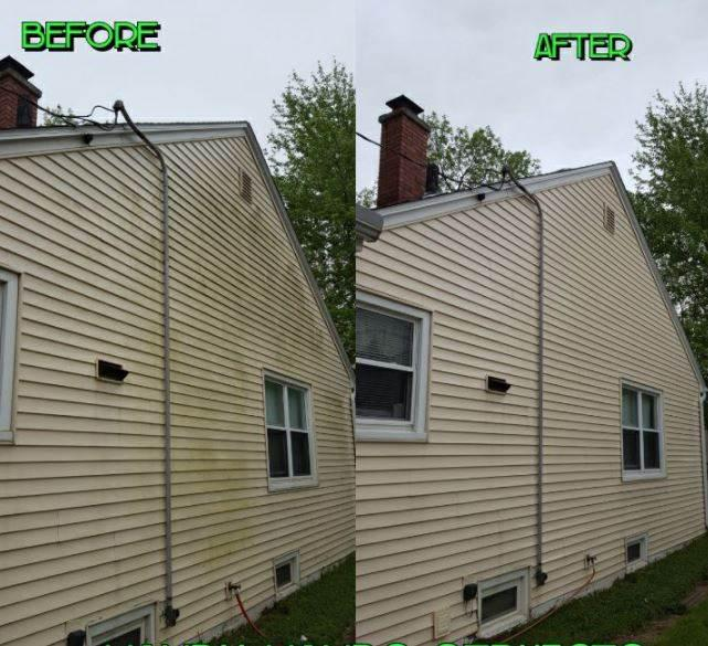 We offer exterior cleaning, pressure washing, and power washing in Davenport, IA