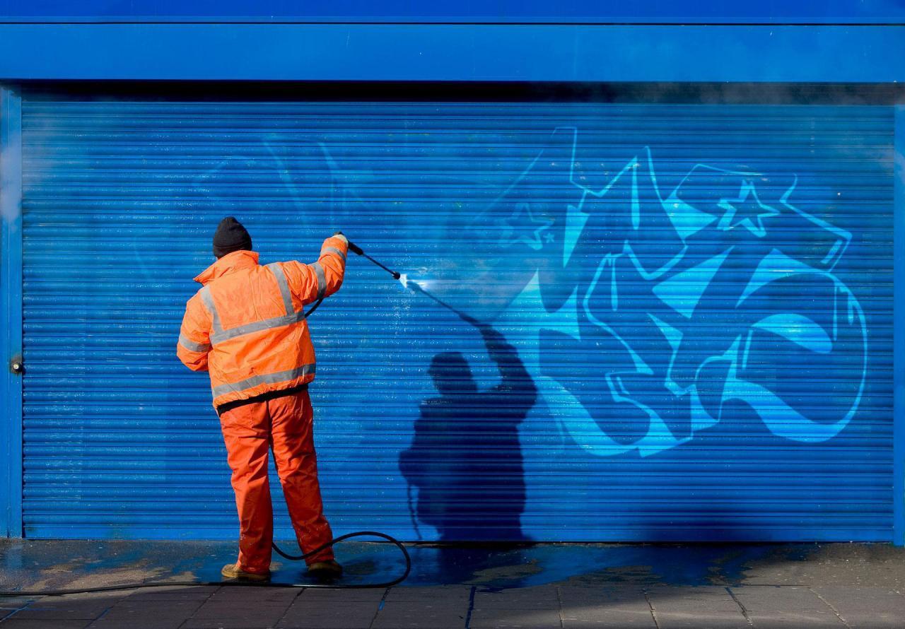 Gum, Graffiti & Rust Removal