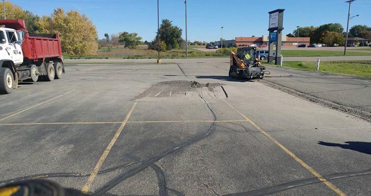 Parking Lot, Driveway & Roadway Asphalt Repair throughout South Dakota
