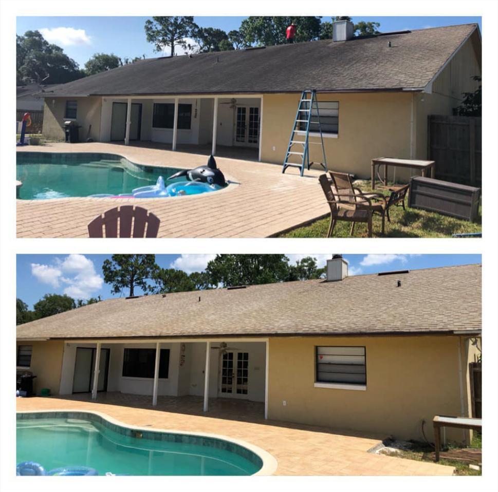 Soft Wash House & Roof Washing