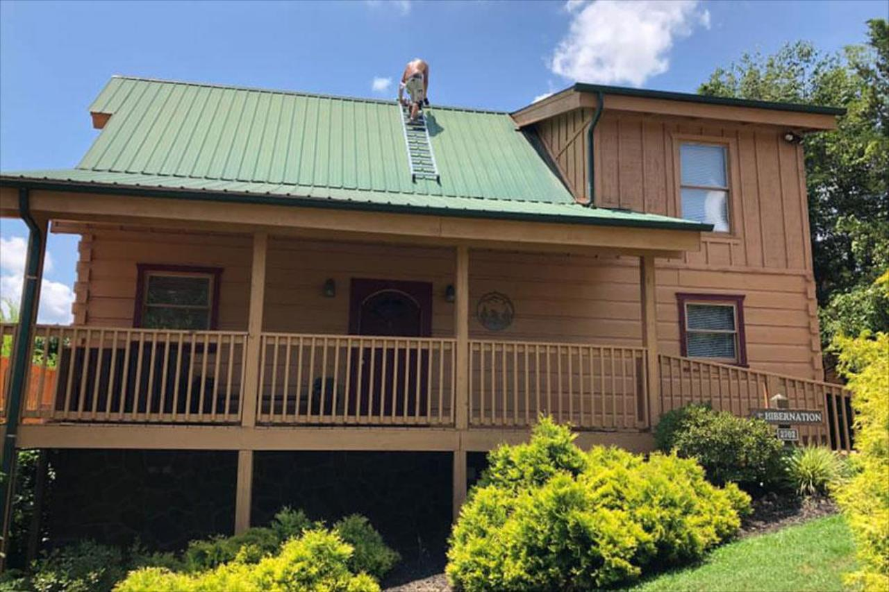 Metal and Shingle Roof Repair