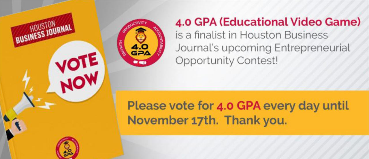 VOTE for us in the Entrepreneurial Opportunity Contest