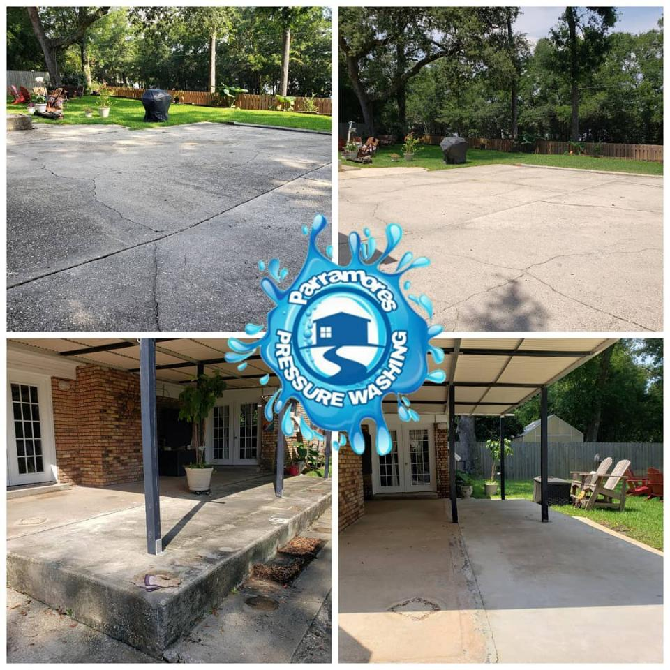 Don't let your pavement change colors. Restore the original appearance of your driveways, walkways, and patios with professional pressure washing services..