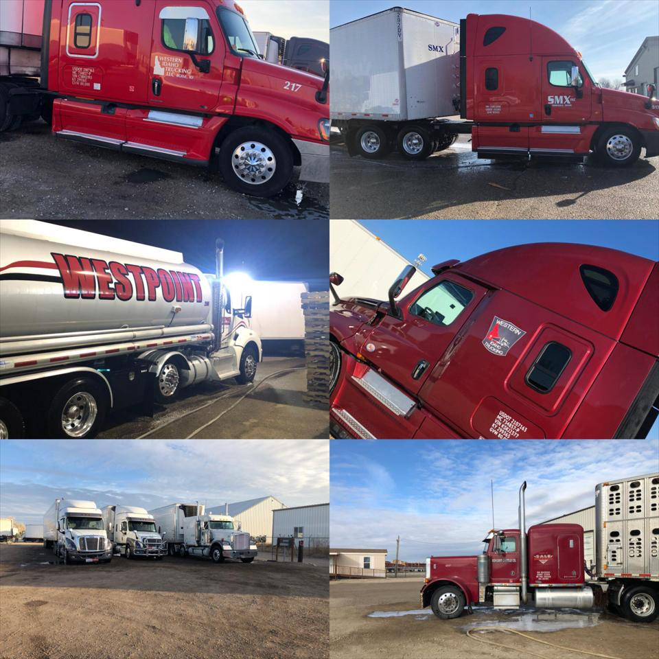 We specialize in commercial fleet washing services for fleets of any size