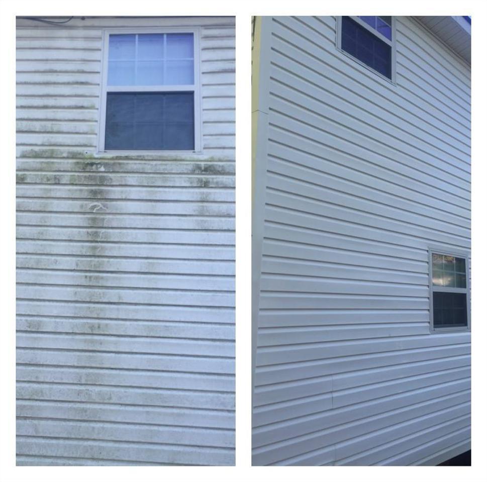 SOFT-WASH HOUSE WASHING