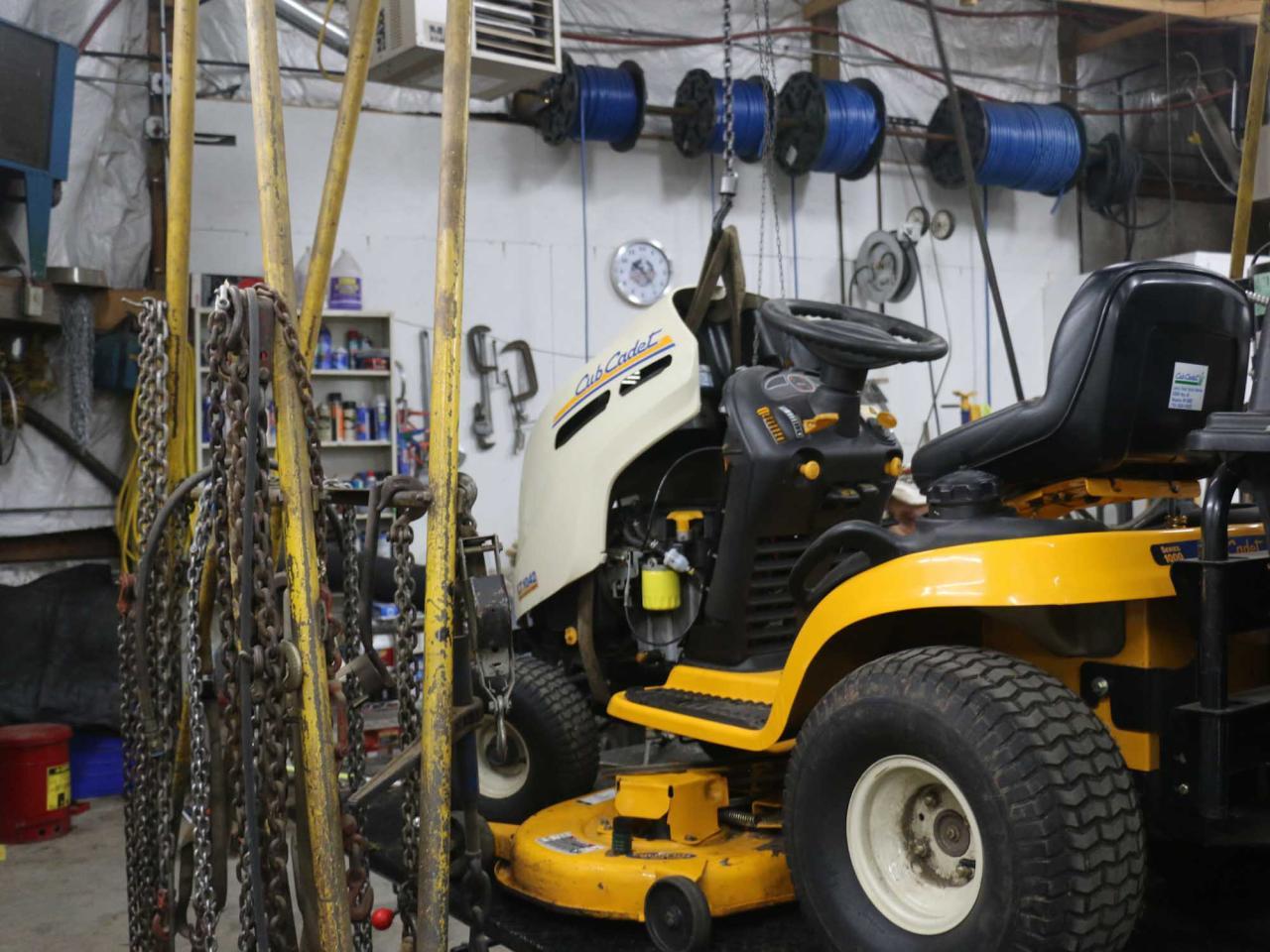 Lawn Equipment Maintenance, Service & Repair