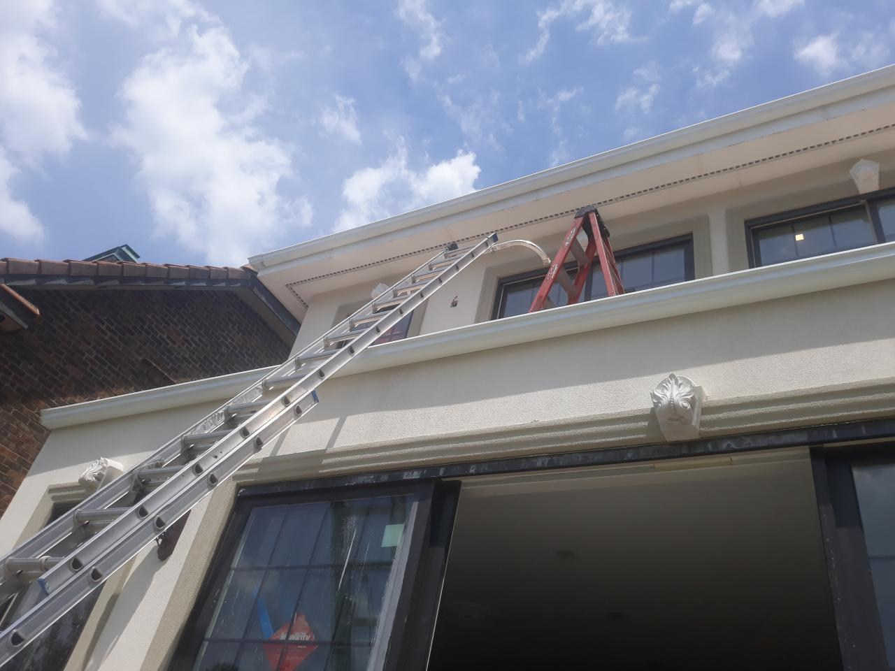 Gutter and Gutter Guard Installation