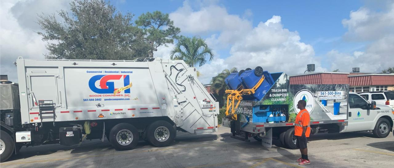 Trash Bin and Dumpster Cleaning/Sanitizing