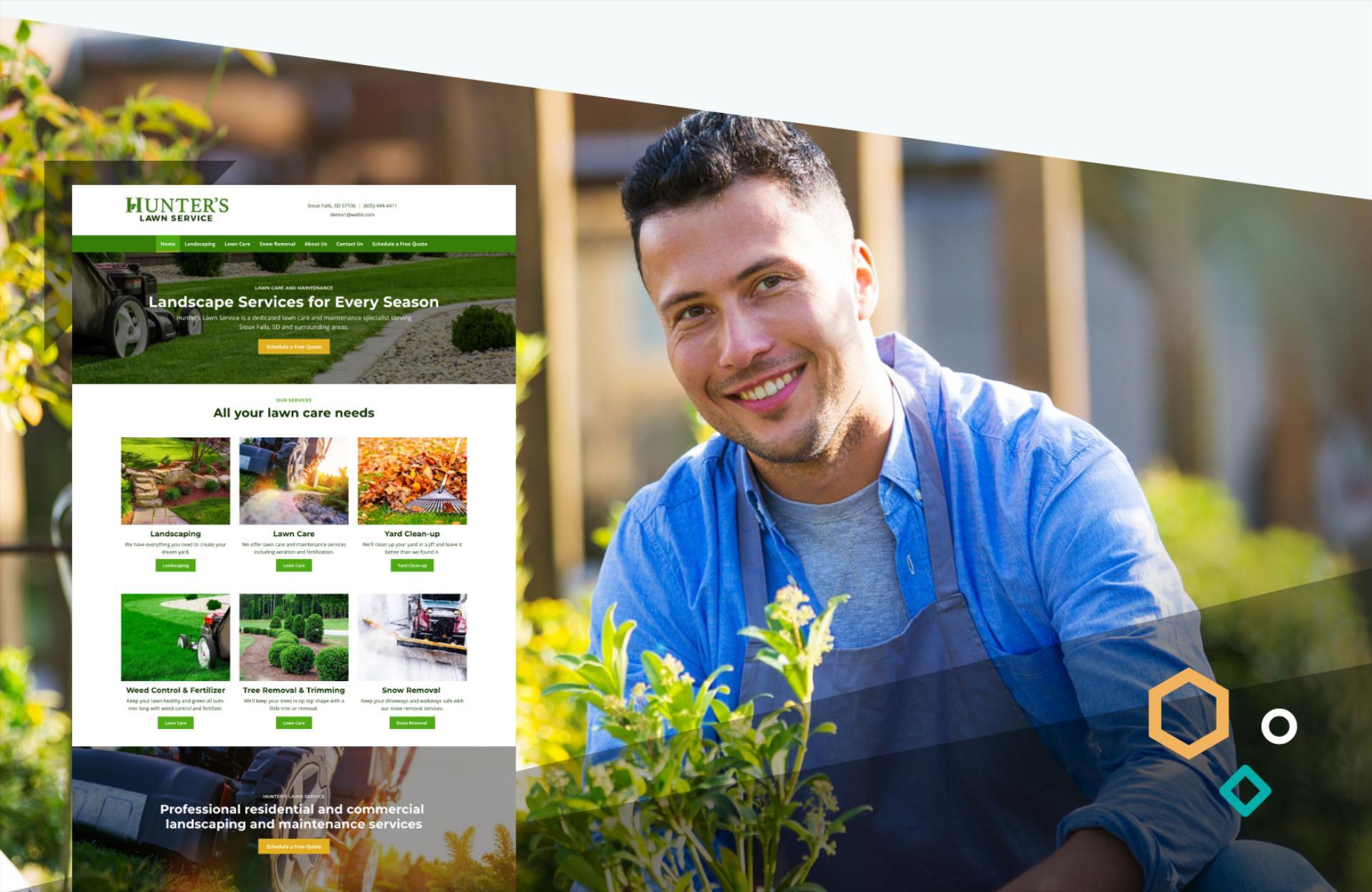 lawn care website