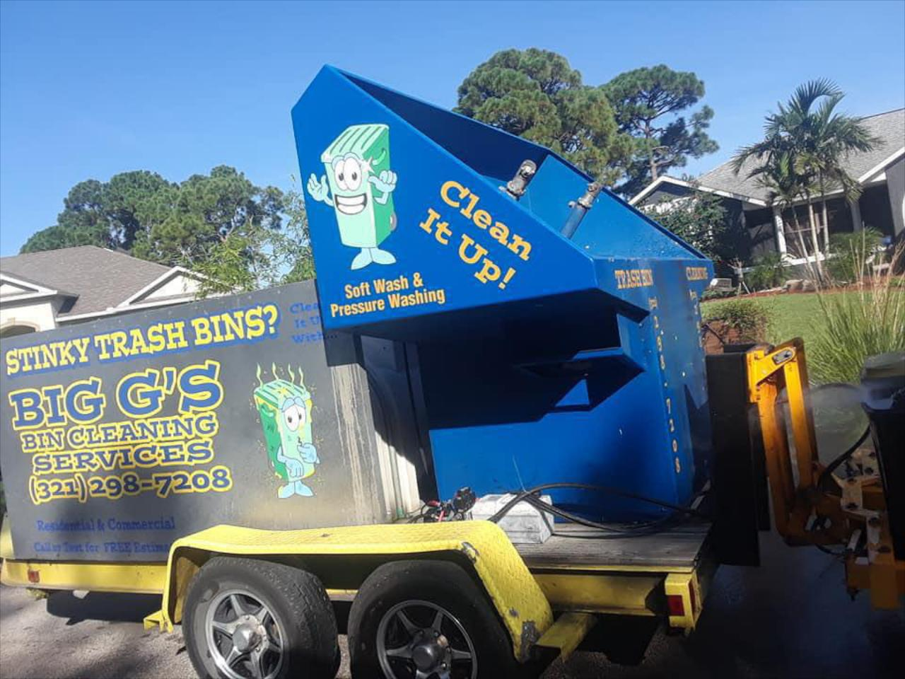 Dumpster Cleaning Services