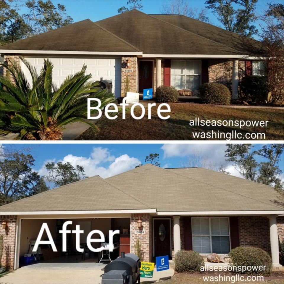 Residential Pressure Washing Services