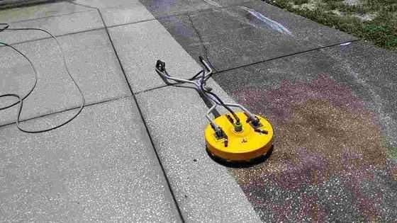 Residential Driveway And Concrete Pressure Washing In