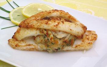 Stuffed Flounder/Tilapia