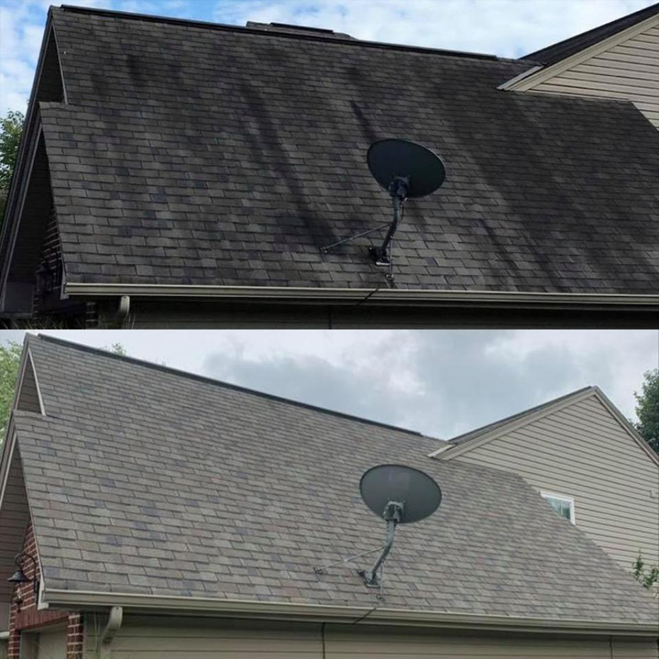 Soft Wash & Roof Cleaning