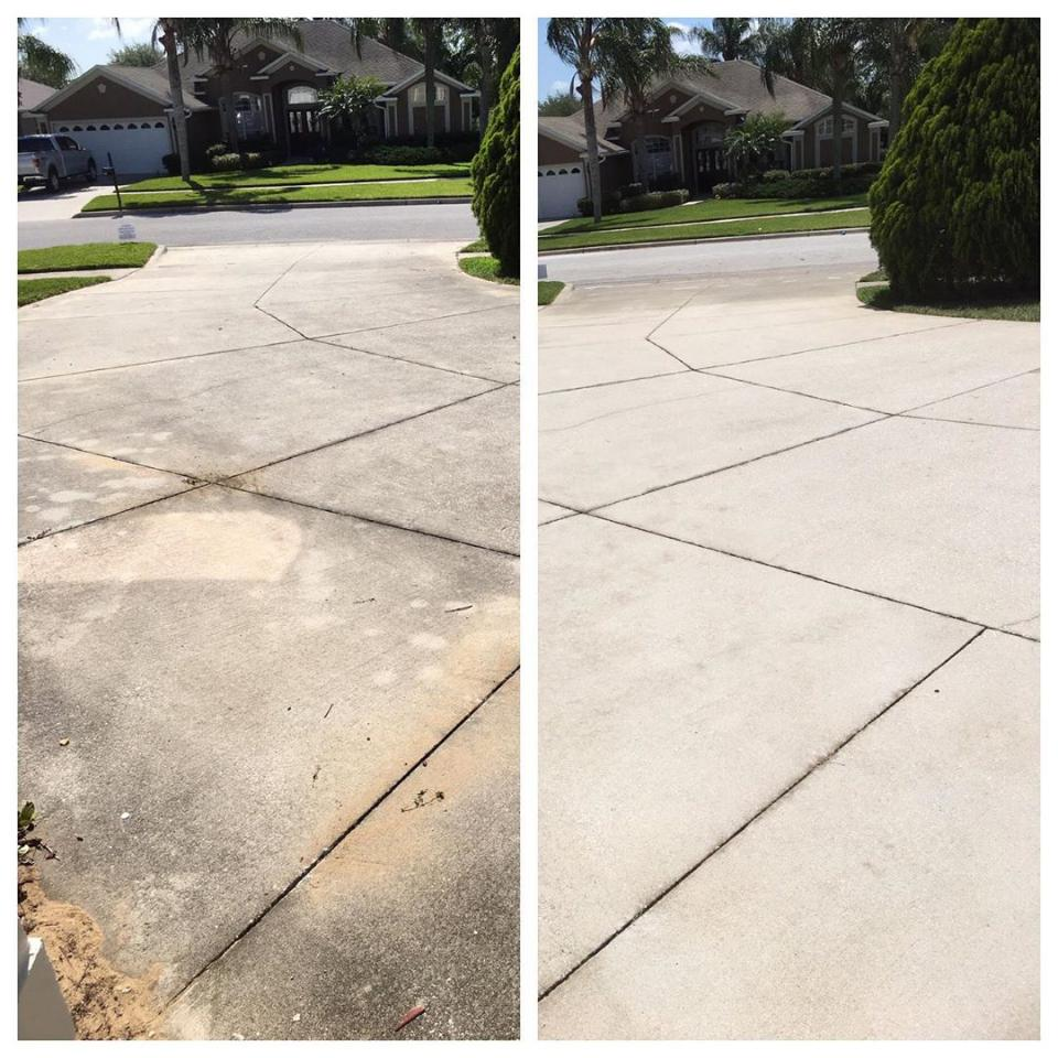 Driveway Cleaning Transforms the Look of your Home
