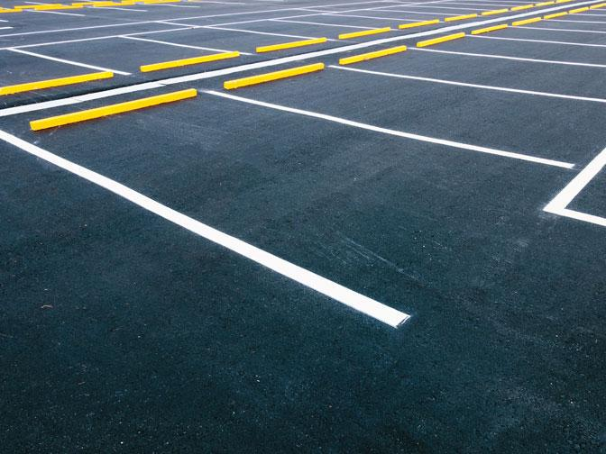 We Use High Pressure and Specialized Cleaning Solutions to Remove Grease, Oil, and Other Contimants From Any Size Parking Lot.