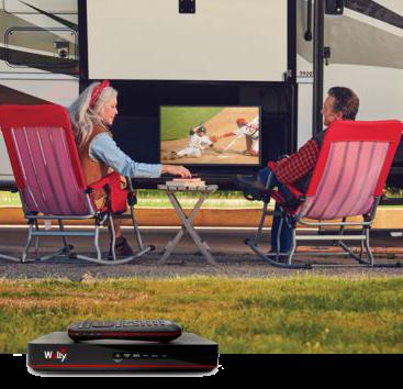 Dish HDTV Goes Outdoors