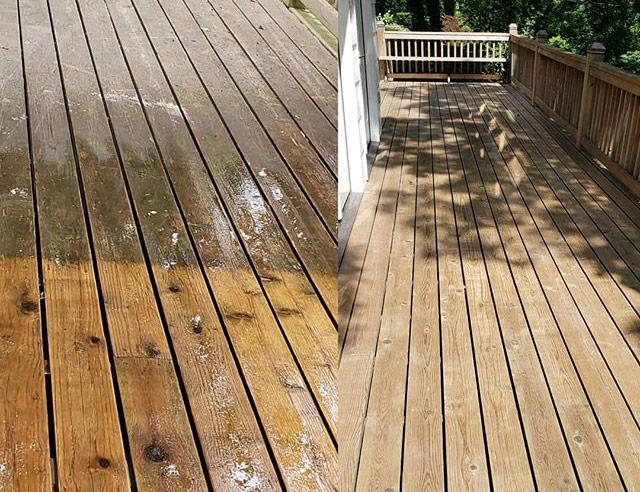 Deck & Fence Cleaning