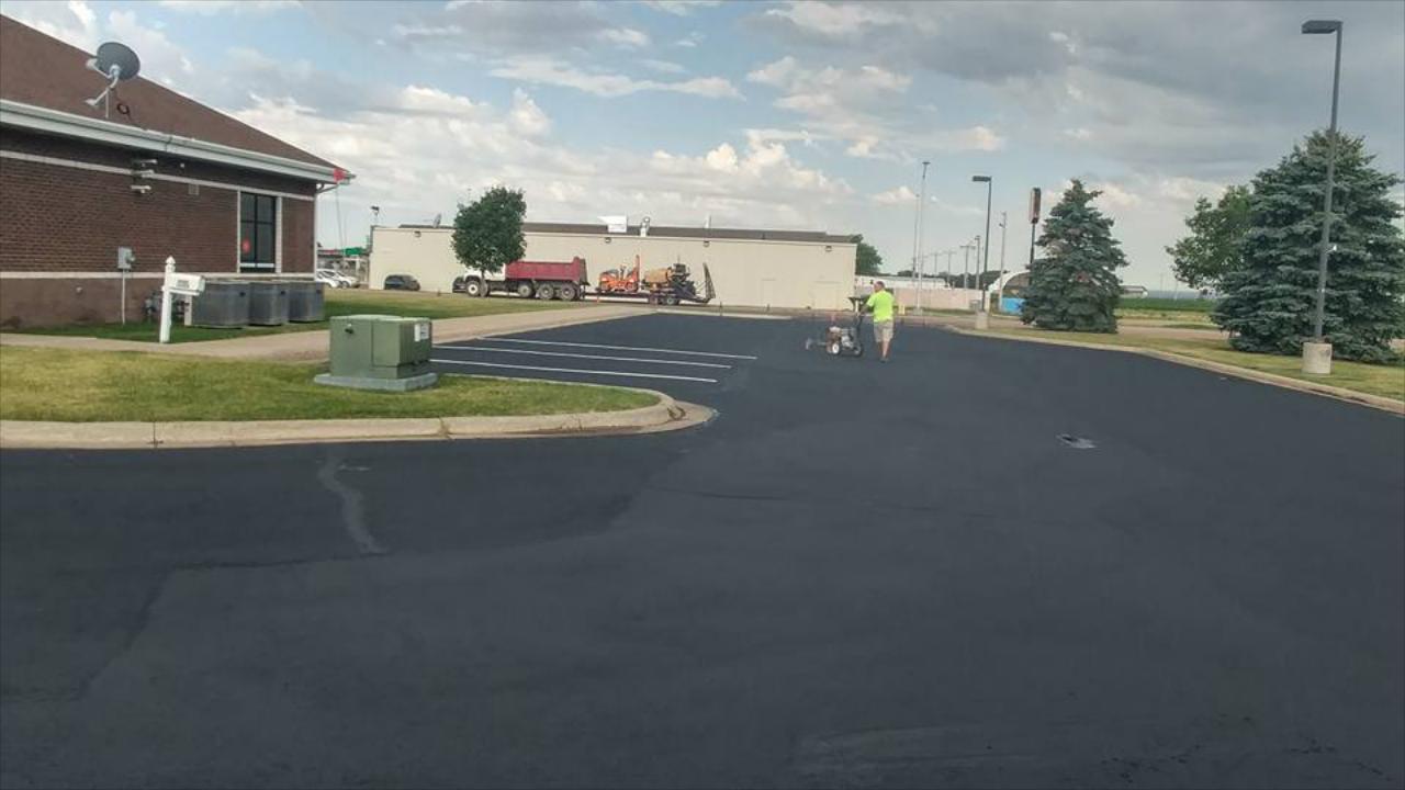 Roadway, Driveway & Parking Lot Paving Services throughout South Dakota