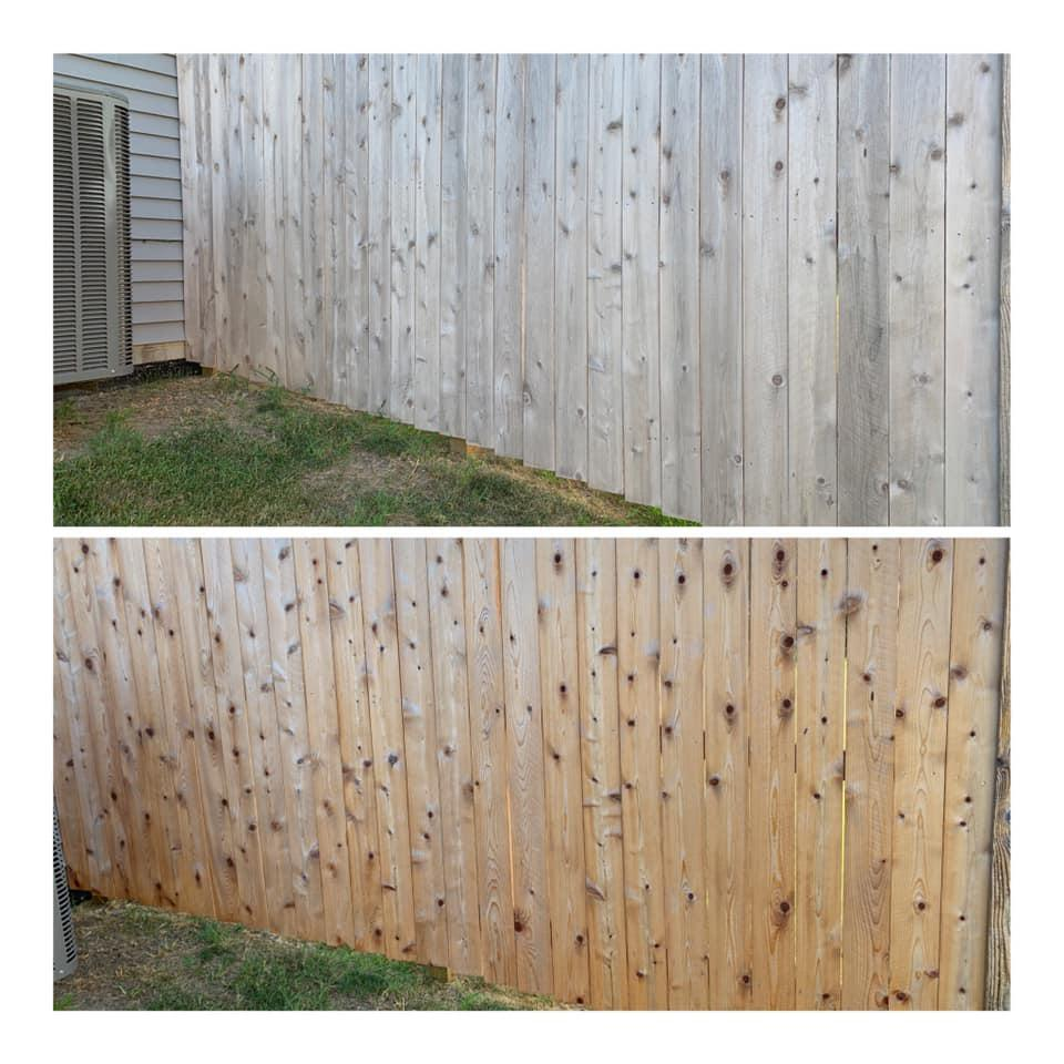 Deck, Fence & Patio Cleaning