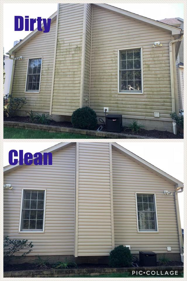 Pressure Washing In Columbus Oh Soft Wash House And Roof