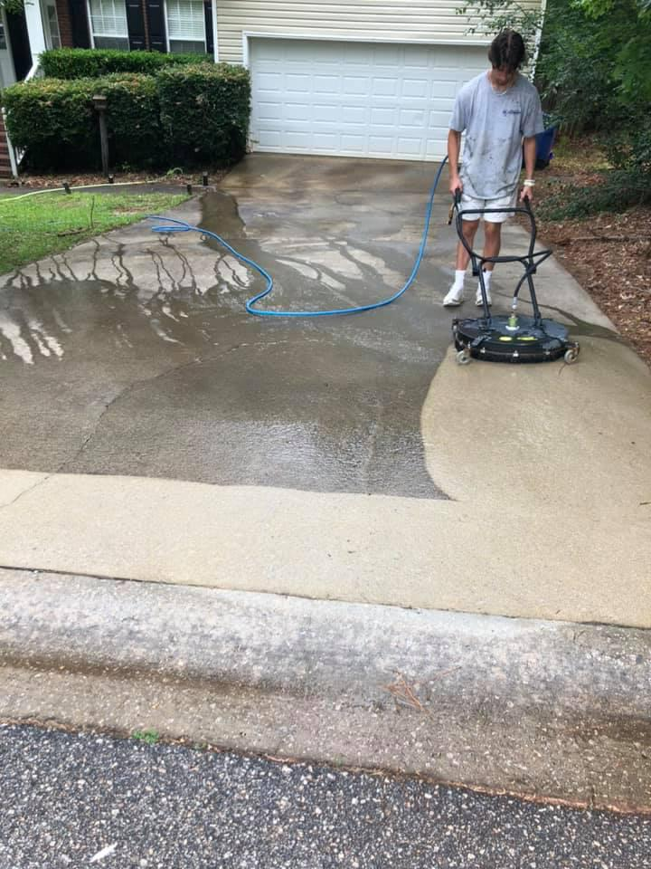 Driveway, Walkway & Concrete Surface Cleaning